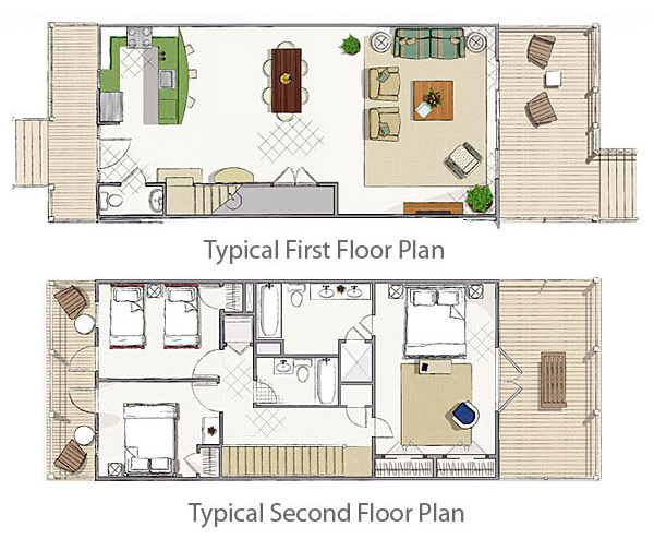 Indigo reef vacation rental floor plan coco plum Rental house plans